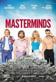Masterminds 2016 1080p Bluray DTS x264 - BluPanther[EtHD]