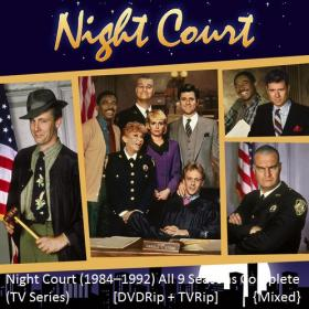 Night Court (1984–1992) TV Series All Seasons Complete DVDRip+TVRip