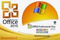 Microsoft Office 2010 SP2 Pro Plus VL X86 MULTi-12 v2 SEP 2017