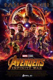 [MovCr com] - Avengers Infinity War (2018) 720p - BDRip - x264 - Original Auds -DD 5 1 - 448Kbps -  [Hindi (5 1) +  Eng] - ESub - MovCr