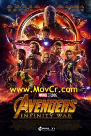 Avengers Infinity War (2018) English 720p WEB-DL X264 AC-3 5 1 4 6GB [MovCr]