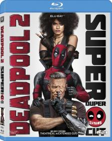 Deadpool 2 (2018) Hindi DD5 1 English 8CH Super Duper Cut UNRATED 1080p x265 BluRay 10Bit - MoviesM<font color=#ccc>B</font>