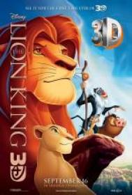 Kr�l Lew 3D - The Lion King 3D 1994 [miniHD][1080p BluRay x264 HOU AC3-Leon 345][Dubbing PL]