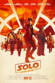 Solo A Star Wars Story 2018 720p