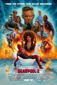 [MovCr com] - Deadpool 2 (2018) 720p - HDRip - x264 -  Line Auds  [Hindi + Tamil + Telugu + Eng] - 1GB - MovCr