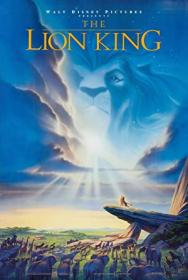 The Lion King 1994 COMPLETE UHD BLURAY-COASTER