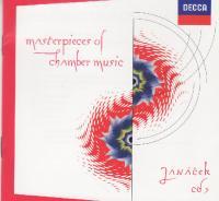 Masterpieces of Chamber Music - Janácek - String Quartet 2, Concertino, Sonata - Gabrielli, Schiff, Shiokawa & ors