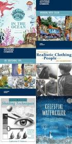 20 Drawing Technique Books Collection Pack-3