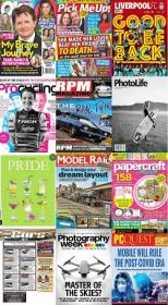50 Assorted Magazines - June 23 2020