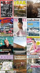 40 Assorted Magazines - June 24 2020