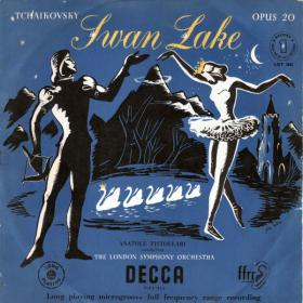 Tchaikovsky - Swan Lake - Op 20, 4 Acts - London Symphony Orchestra, Anatole Fistoulari - Vinyl from The 50s