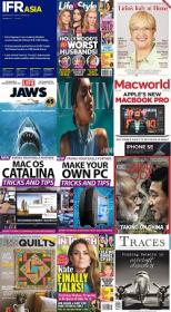 50 Assorted Magazines - June 29 2020