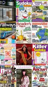50 Assorted Magazines - July 01 2020