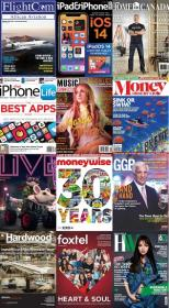 50 Assorted Magazines - July 29 2020