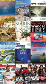 50 Assorted Magazines - July 30 2020