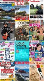 50 Assorted Magazines - September 14 2020