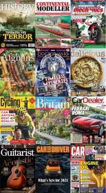 50 Assorted Magazines - September 21 2020