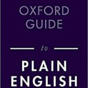 Oxford Guide to Plain English, 5th Edition