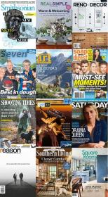 40 Assorted Magazines - September 23 2020
