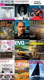 50 Assorted Magazines - September 23 2020