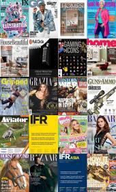 200 Assorted Magazines - October 08 2020