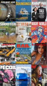 50 Assorted Magazines - October 13 2020