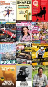 50 Assorted Magazines - October 14 2020