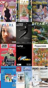 50 Assorted Magazines - November 21 2020